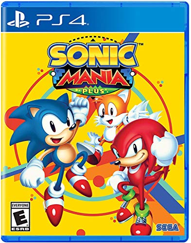 Sonic Mania Plus - PlayStation 4 (Spelunky Game)
