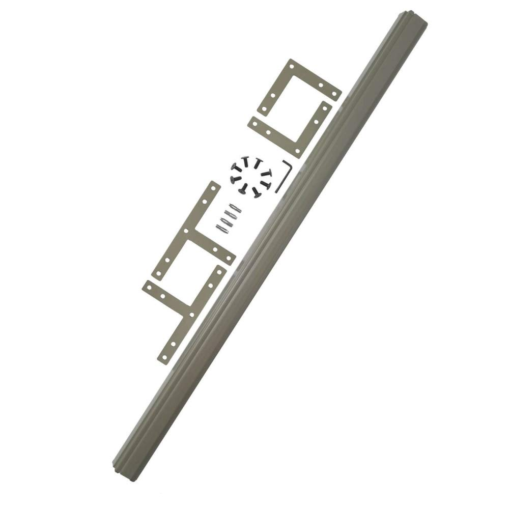 ProSeries Office Partition Walls - 2 Way or 3 Way Connection Hardware for 66H Office Panel Systems