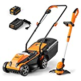 LawnMaster 20VMWGT 24V Max Lithium-Ion 13-inch Lawn