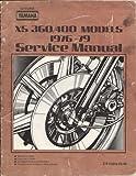 Yamaha XS 360/400 Models 1976-80 Service Manual