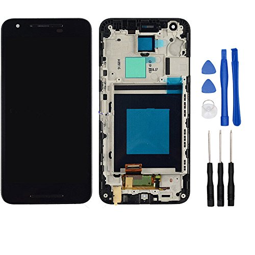 NUMKUN Generic For LG Google Nexus 5X H790 H791 Touch Lcd Display Assembly With Frame with repair tools+2 pcs Screen Protector Tempered Glass (Lg 2 Repair Screen Kit compare prices)