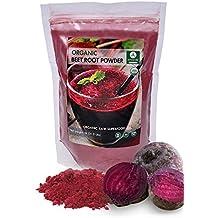 Organic Beet Root Powder (1lb) by Naturevibe Botanicals, Gluten-Free, Raw & Non-GMO (16 ounces)