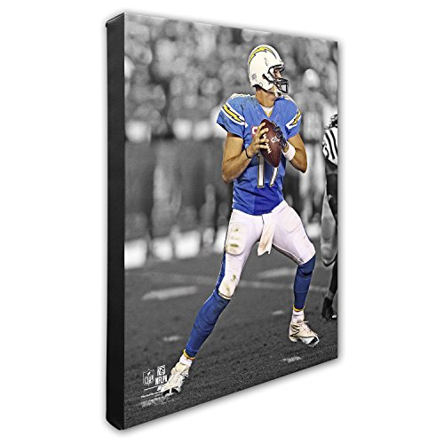NFL San Diego Chargers Philip Rivers Beautiful Gallery Quality, High Resolution Canvas, 16