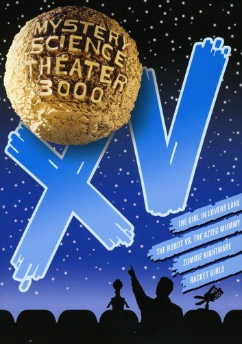 Mystery Science Theater 3000, Vol. XV (The Robot vs. the Aztec Mummy / The Girl in Lovers Lane / Zombie Nightmare / Racket Girls) Adam West Jon Mikl Thor Tia Carrere Manuska Rigaud