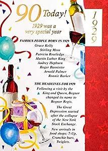 Maroon 90th Tarjeta de cumpleaños - 1925 fue un año muy ...