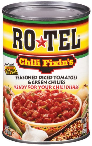 Rotel  Diced Tomato Chili Fixin, 10-Ounce Units (Pack of 24)