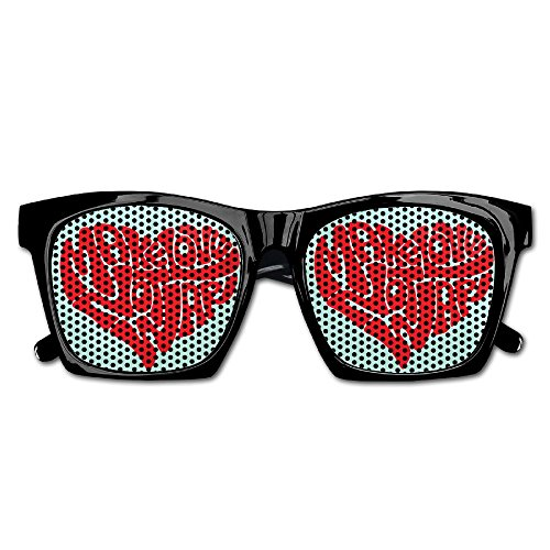Xing Stars Colorful Summer Unisex Make Love Heart Fashion Party Costume Sunglasses - 1980s Costumes Canada