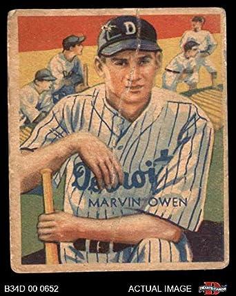 Amazoncom 1935 Diamond Stars 67 Marvin Owen Detroit Tigers
