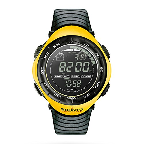 Cheap Suunto Vector Wrist-Top Computer Watch with Altimeter, Barometer, Compass, and Thermometer (Yellow)