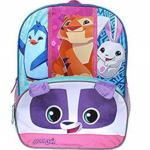 - Animal Jam 16 inch Backpack with Side Mesh Pockets
