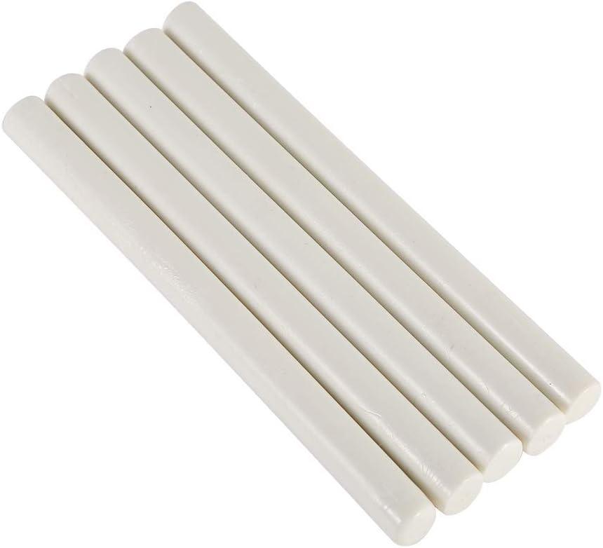 Wachsversiegelung 5St Seal Stempel Wachs-Sticks for Sealing Vintage Geburtstags-Hochzeit Einladungskarten Farbe : Ivory white