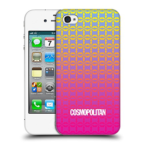 Official Cosmopolitan Ombre 5 Fun Summer Hard Back Case for Apple iPhone 4 / 4S