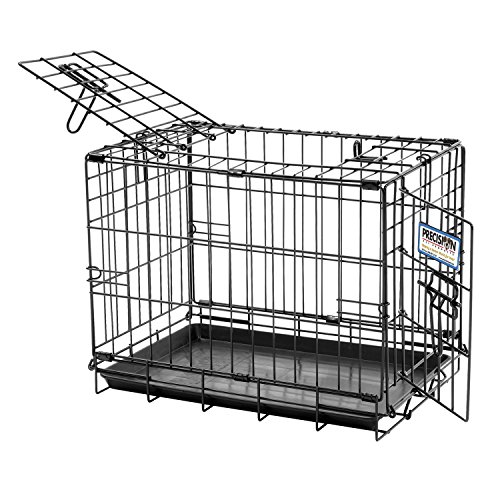 Precision Pet Two-Door Great Crate, Small - 24x18x20 inches