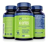 K-LYTES Electrolyte Supplement Rapid Rehydration – Vitamin D, Minerals & BioPerine Pepper for Best Electrolytes Absorption – Stops Cramps, Boosts Energy, Endurance & Recovery – Perfect for Keto Diet