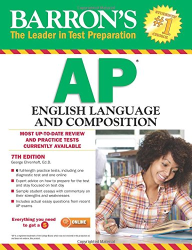 Barron's AP English Language and Composition, 7th Edition cover