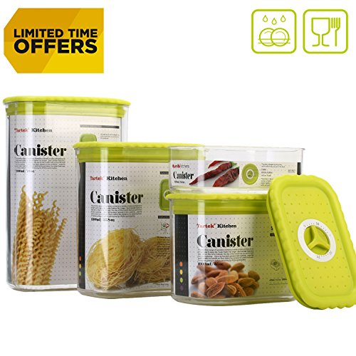 Tartek Airtight Food Storage Containers Set - S...