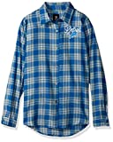 Detroit Lions 2016 Wordmark Basic Flannel Shirt - Womens Medium