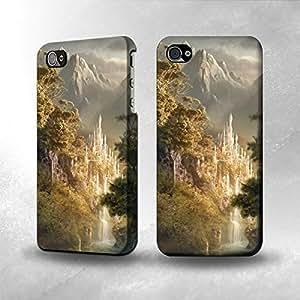 Apple iPhone 4 / 4S Case - The Best 3D Full Wrap iPhone Case - Fantasy Art