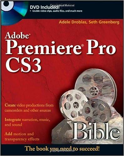 Adobe Premiere Pro CS3 Bible
