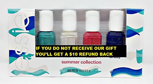 ESSIE Nail Lacquer - Mini SUMMER 2016-4 colors +Plus Free Gift With This Purchase ()