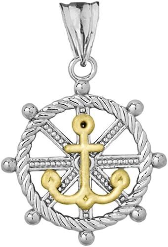 Best Quality Free Gift Box 10k Anchor Charm