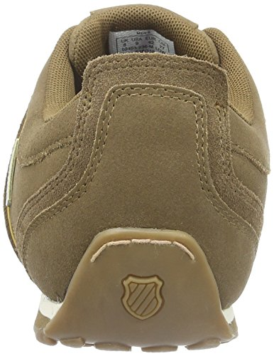 K-Swiss Men's Arvee Low-Top Sneakers Brown (Bison/Amber Gold 236) buy cheap visa payment wiki cheap online LFQ3aSW6PP