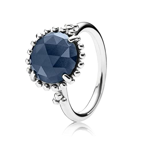 Pandora anillo Midnight Star azul cristal 190910 NBC