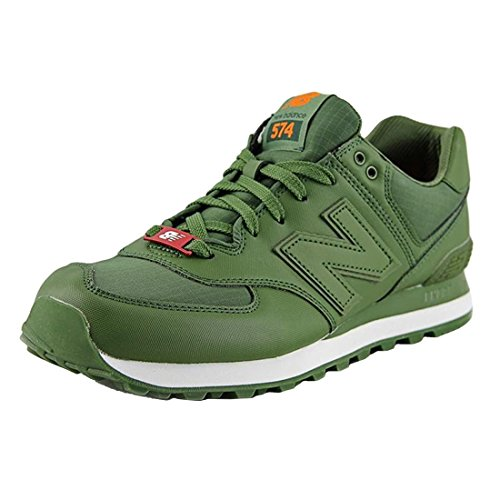 New Balance Mens Ml574 Acrilico Pack Classic Sneaker Olive2