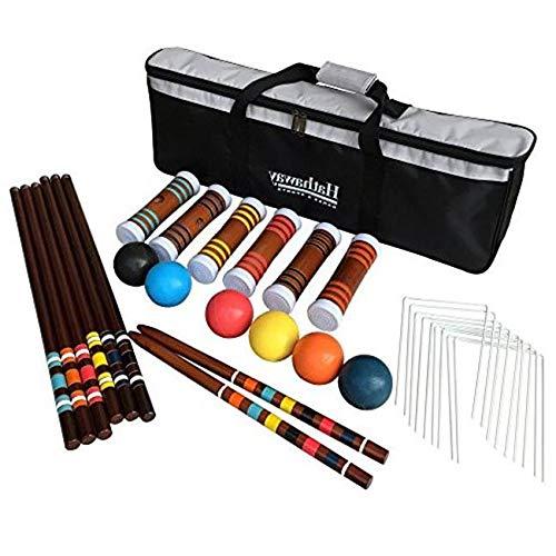 Aromzen 6-Player Croquet Set
