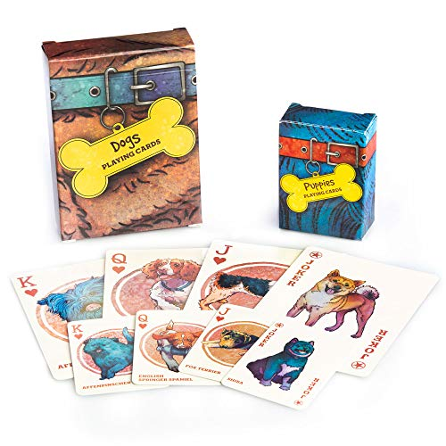 dogs playing cards picture - 6