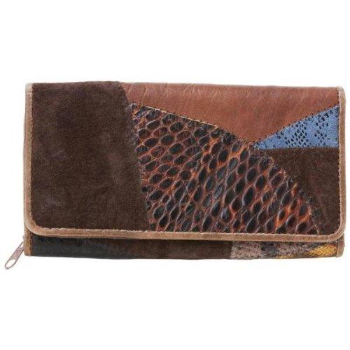 EmbassyTM Ladies' Italian StoneTM Design Genuine Leather Wallet