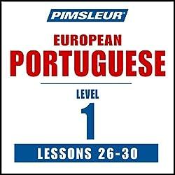 Pimsleur Portuguese (European) Level 1, Lessons 26-30