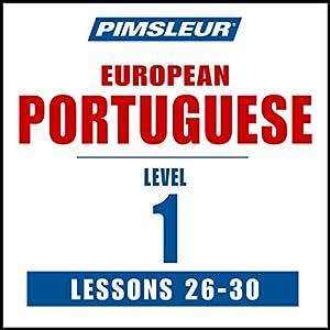 Pimsleur Portuguese (European) Level 1, Lessons 26-30 Speech