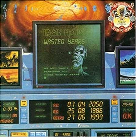 Iron Maiden - Wasted Years / Stranger In A Strange Land - Amazon.com Music