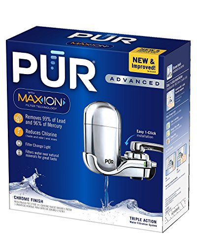 PUR 3 Stage Vertical Faucet Mount with Filter