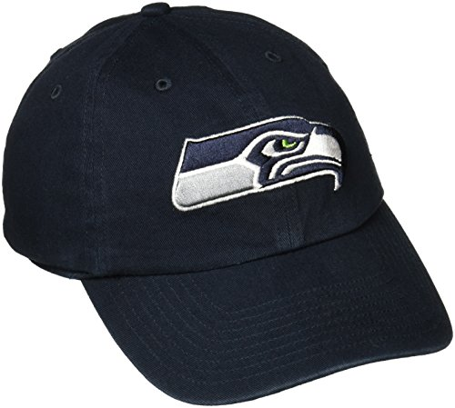 Seattle Seahawks Nfl Metal (NFL Seattle Seahawks '47 Clean Up Adjustable Hat, Navy, One Size)