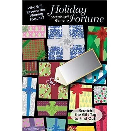 Holiday Party Scratchers Fortune Scratch-Off Game