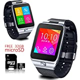 Indigi Smart Watch And Phone 2-in-1 Bluetooth + Wireless Phone - Free 32gb SD