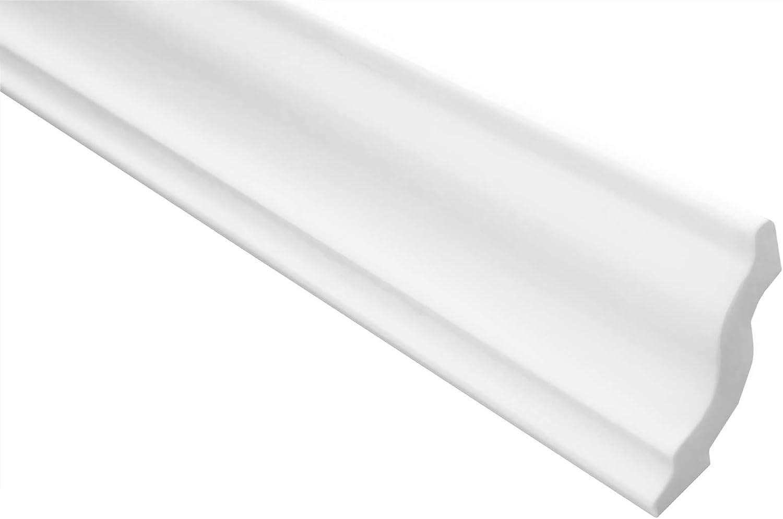 Molduras de estuco Marbet E-5 Cantidad:30 metros // 15 tira 40x45mm XPS estable