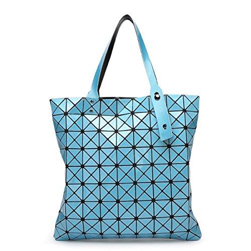 Shoulder Diamant Big Forfait Bag Rubik's Forme En Cube Géométrique Bag Portable De SapphireBlue wxBq40H1IB
