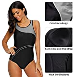 CharmLeaks Women's Competitive Athletic One Piece