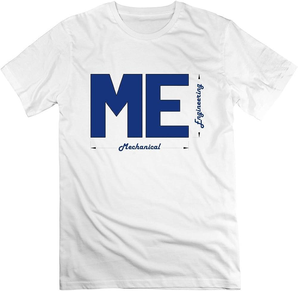 Custome Xu Hombre mecánico Engineer Capital Letra T Camisa Corto, color blanco Negro blanco XXL: Amazon.es: Ropa y accesorios