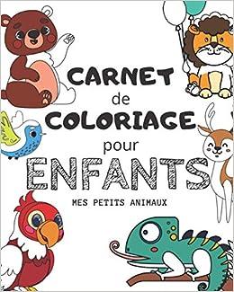 Carnet De Coloriage Pour Enfant Mes Petits Animaux De 5 A 9 Ans Livre De Coloriage Enfant 6 Ans Livre De Coloriage Mariage Coloriage En Folie Amazon Fr En Folie Coloriage Livres
