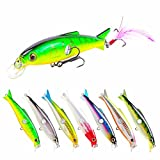 Cheap SeaKnight Suspending Minnow Sea Fishing Lures for Bass Pike (SK007 7pcs)