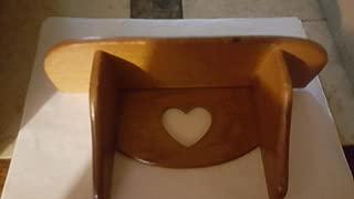 product image for Peg Shelf, Linen/Heart