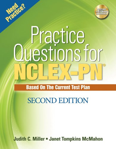 Practice Questions for NCLEX-PN (Test Preparation) by Cengage Learning