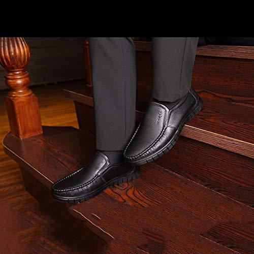 Oxford Calzado 48 Negro Oficina Tyx 37 Marrón Para Negocios A Hombres Casual De ss BqHwTX