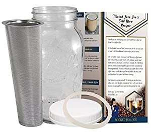 Amazon Com Cold Brew Coffee Maker 2 Quart Classic