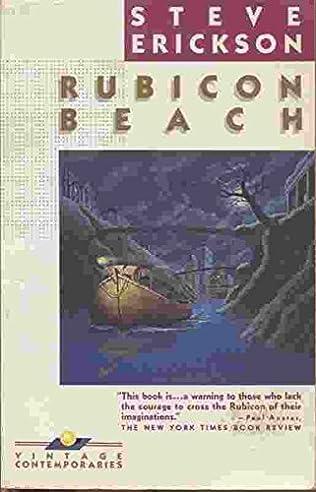 book cover of Rubicon Beach