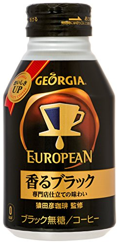 X24 This Coca-Cola Georgia European fragrant black 290ml bottle cans by Georgia
